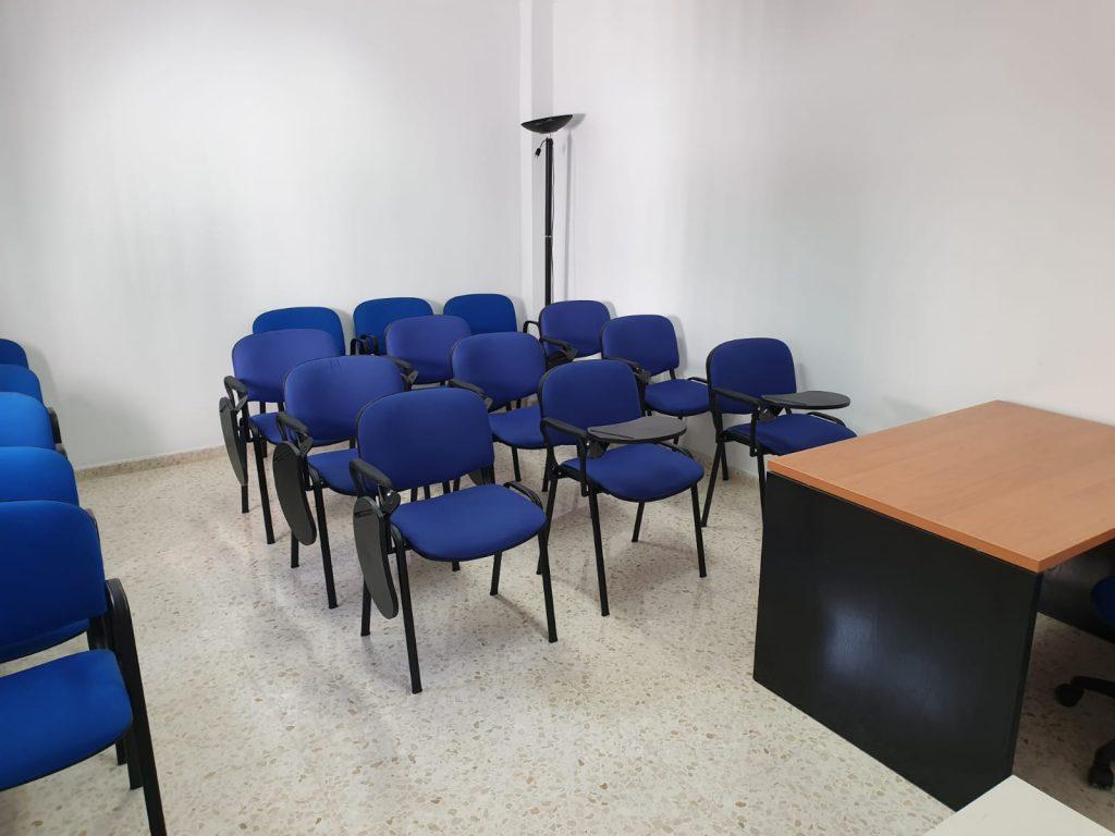 aula de formación del despacho de abogados cirineo abogados